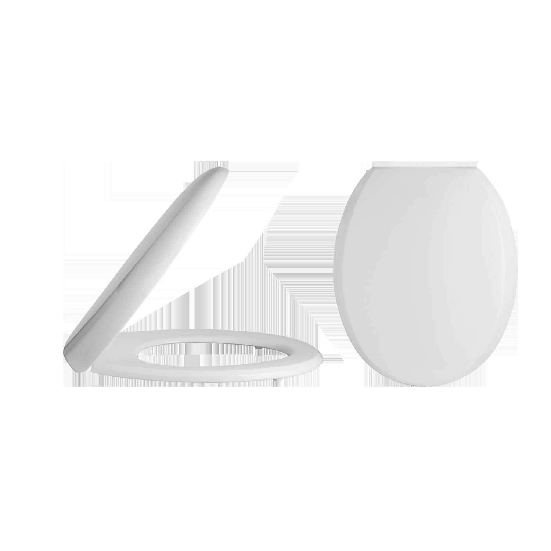 White Nuie NTS006 Luxury Soft Close Toilet Seat